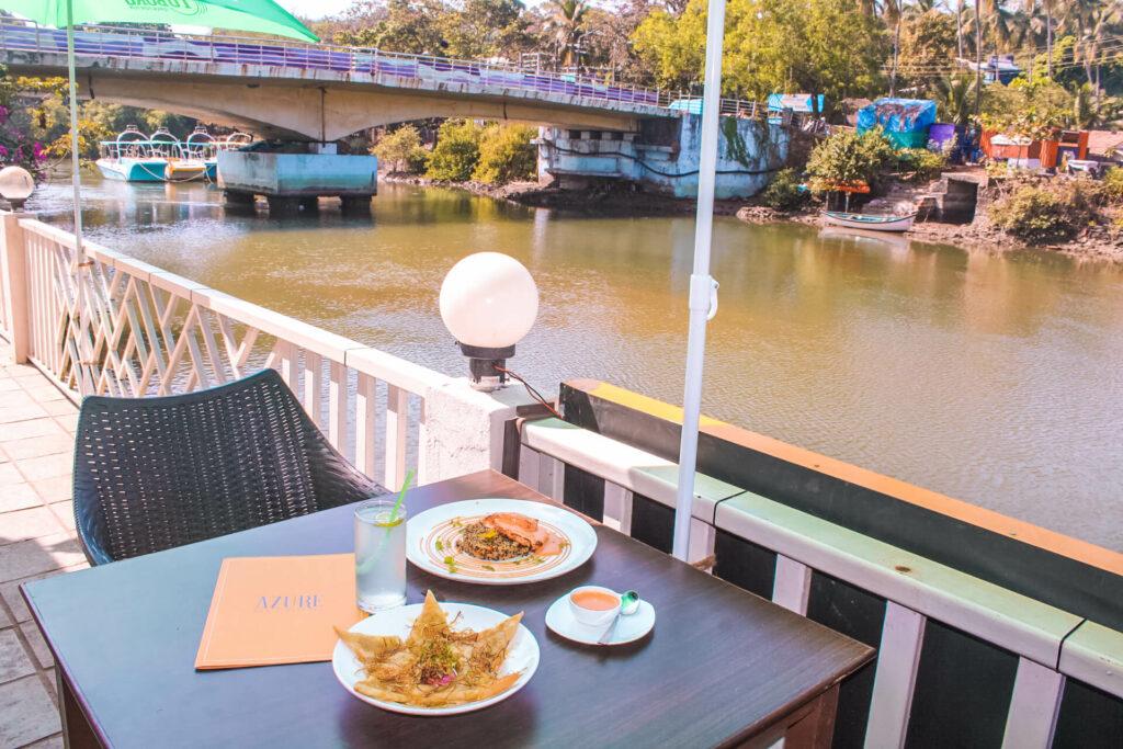 Azure, Baga - One of the best restaurants in North Goa