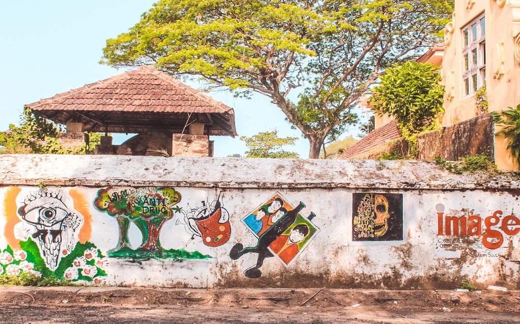Fort Kochi street art - Places to visit in Fort Kochi and Mattancherry