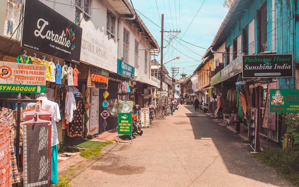 Jew Town Fort Kochi and Mattancherry