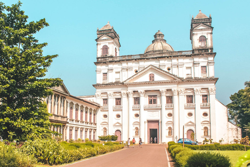 Places to visit in Old Goa - attractions St Cajetan Church