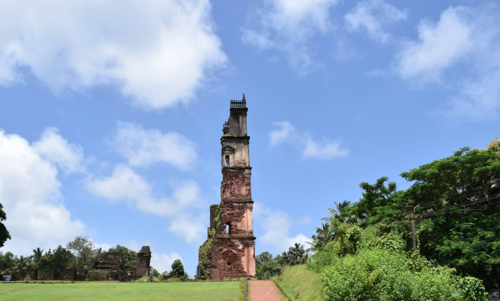 Old Goa attractions - St Augustine Tower