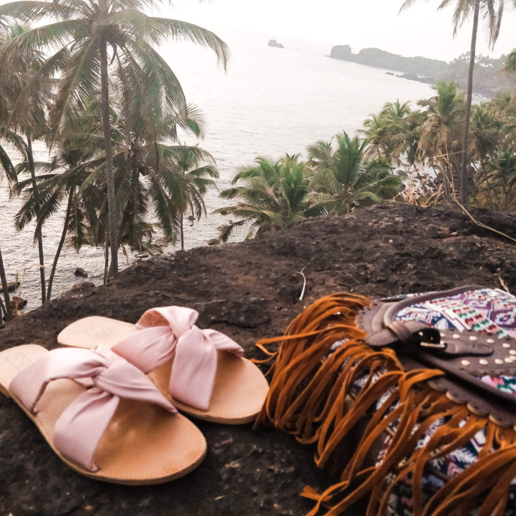 Wear quirky sandals in Goa