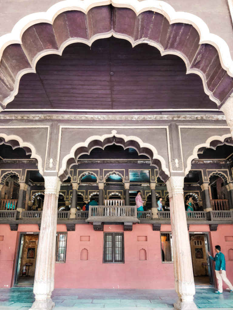 Tipu Sultan Palace in Bangalore
