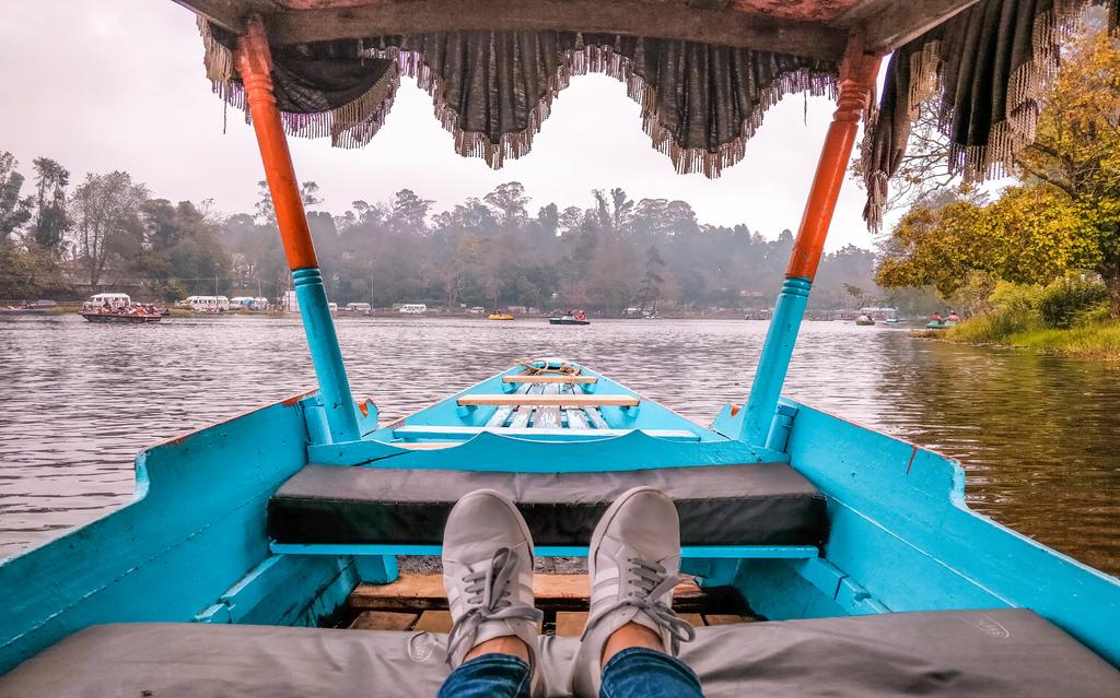 Boating in Kodaikanal lake in places to visit in Kodaikanal in 2 days