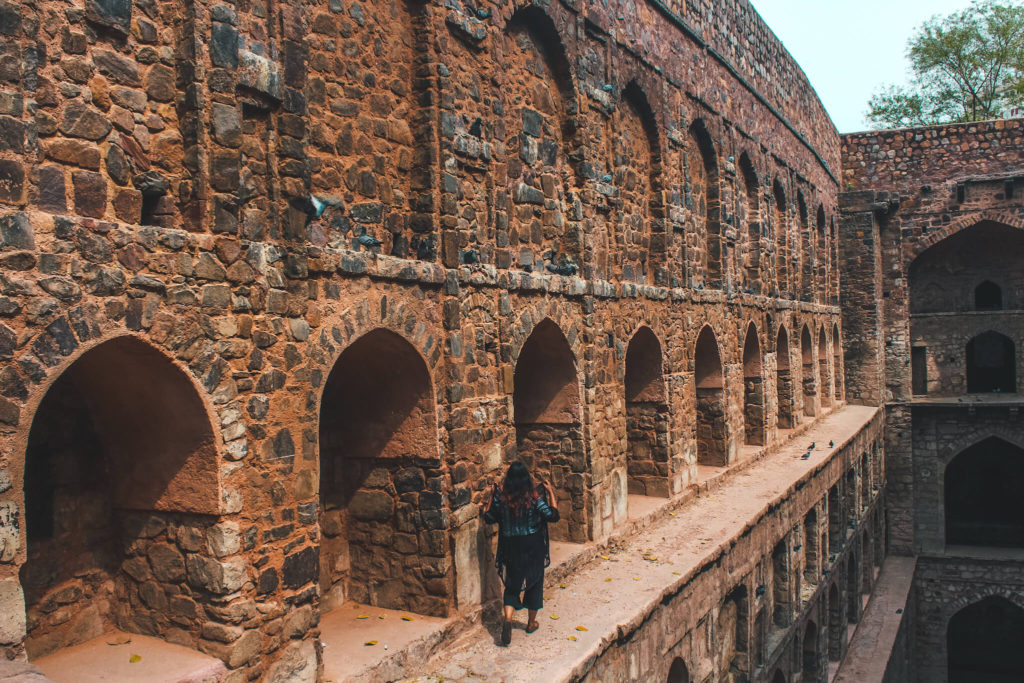 Instagrammable Delhi Agrasen ki Baori