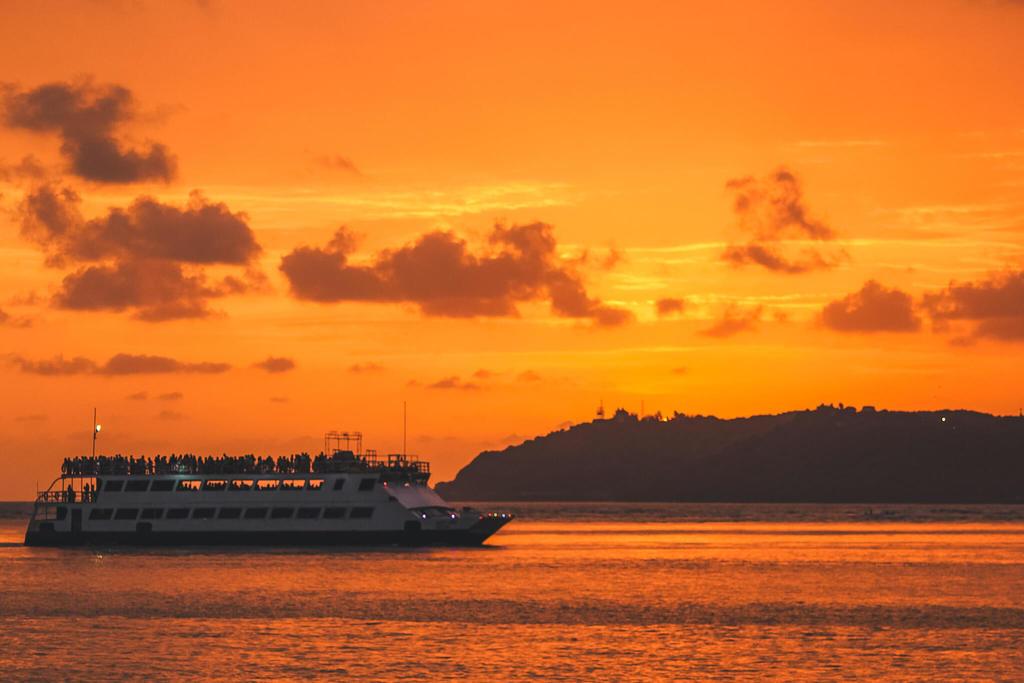 Things to do in Panjim Goa - sunset