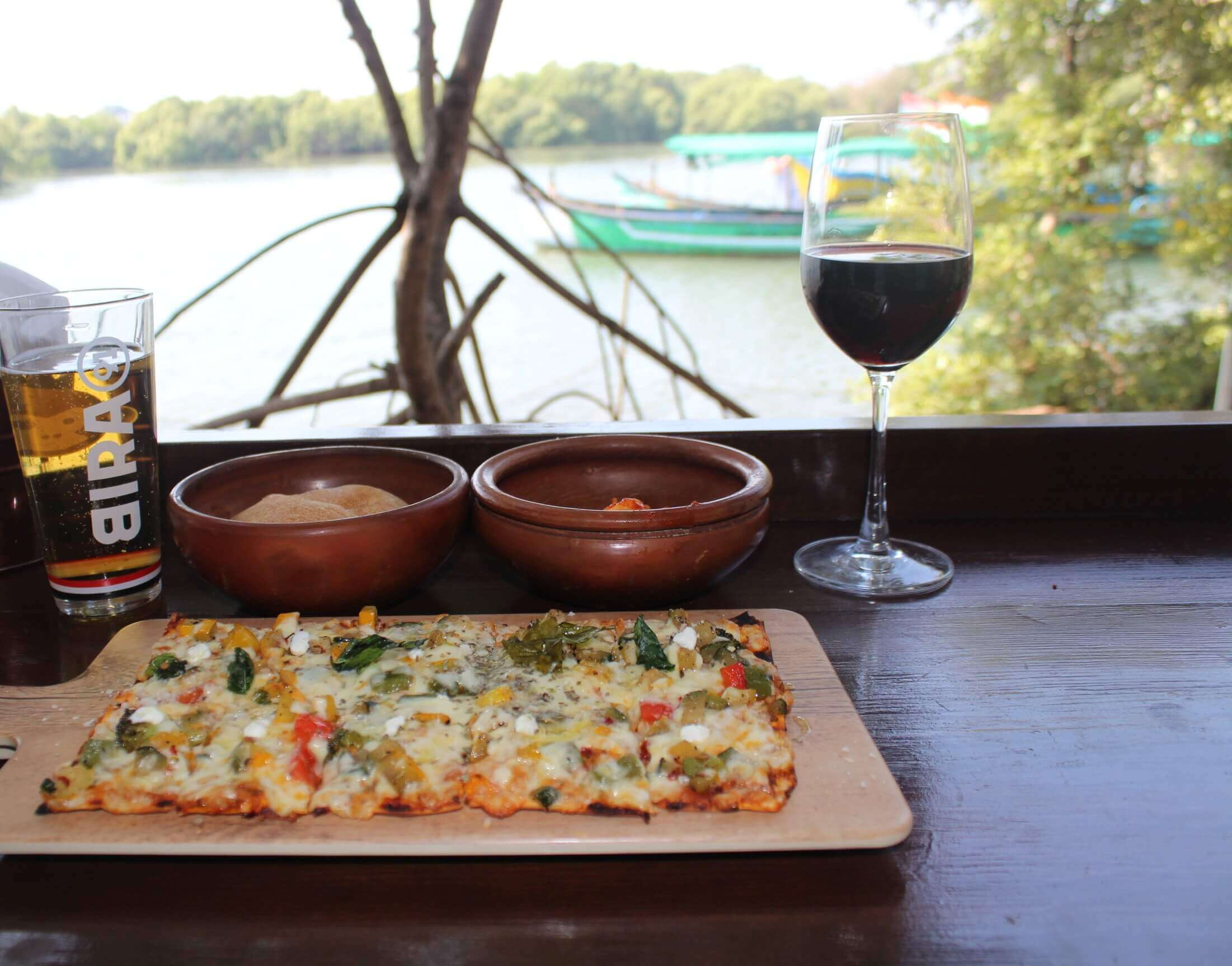 Best Restaurants in North Goa places to visit - The Lazy Goose