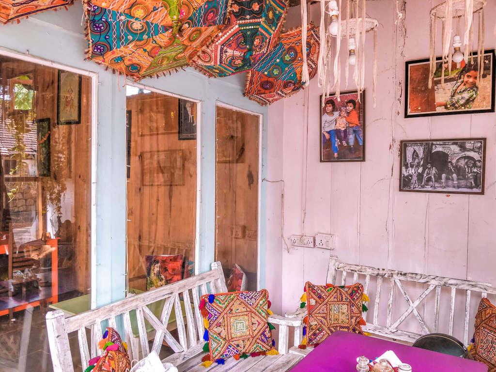 Little world cafe at Palolem beach Goa