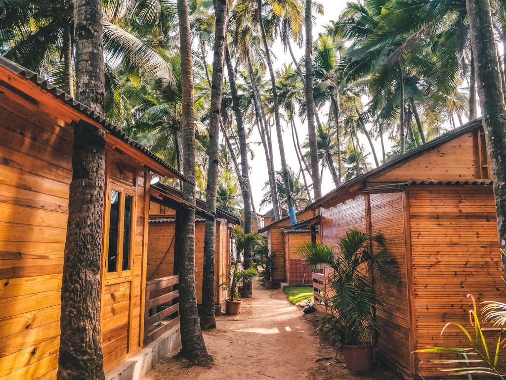 O3 beach resort Palolem beach Goa