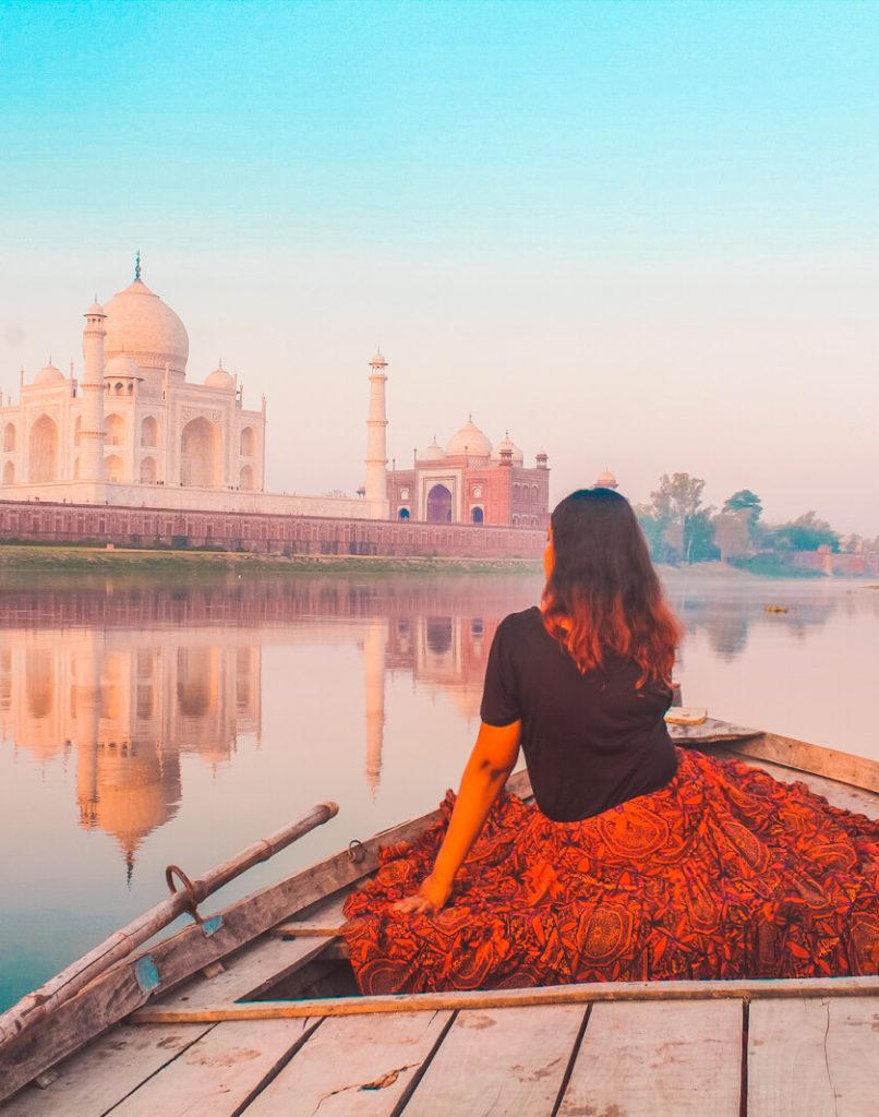 the spicy journey taj mahal agra travel blog