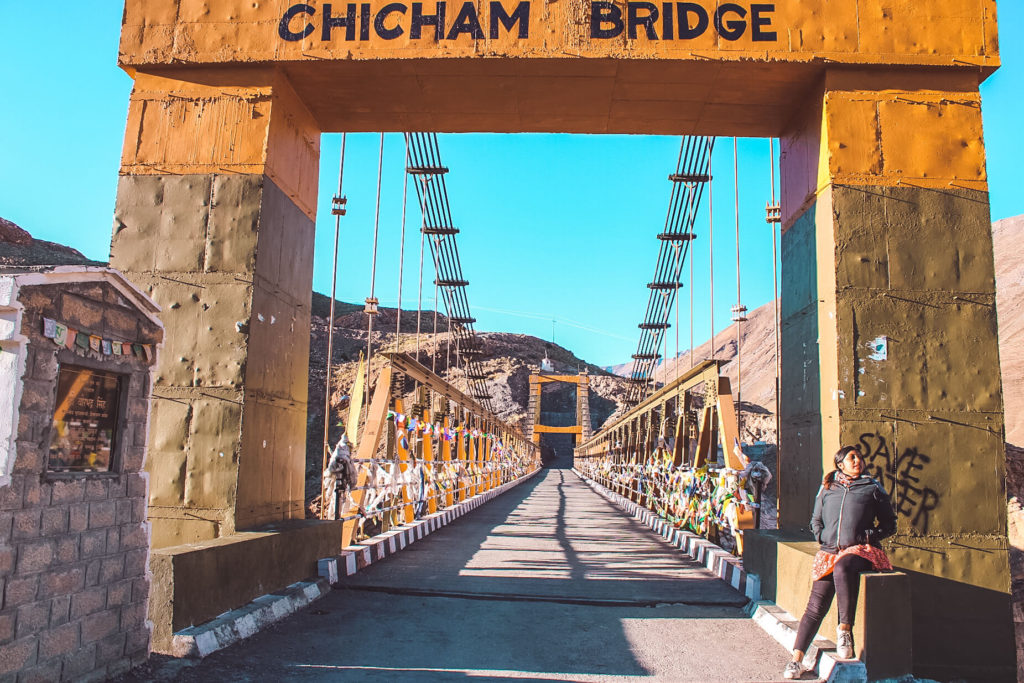 Chicham Bridge in Spiti Valley Itinerary