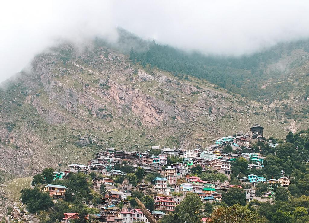 Kamru Fort in Sangla Valley, Kinnaur Himachal Pradesh