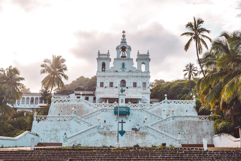 Panjim church - One of the best places to visit in North Goa