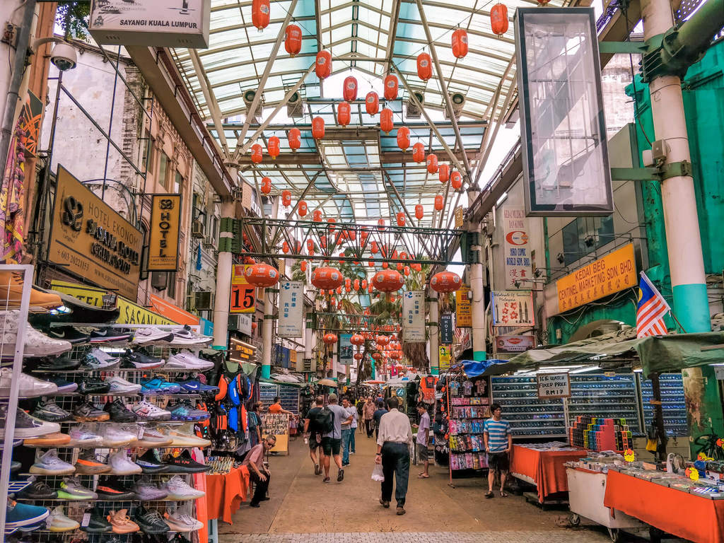 Petaling street in things to do in Kuala Lumpur in 3 days