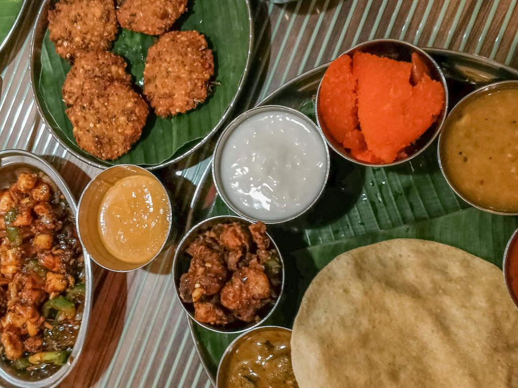 Where to eat in Kuala Lumpur - Betel leaf Indian restaurant in Kuala Lumpur