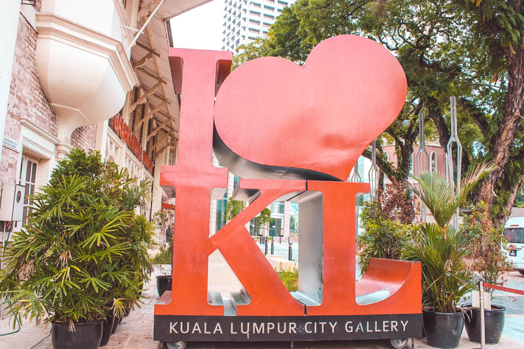 I Love KL Sign in What to do in Kuala Lumpur in 3 Days