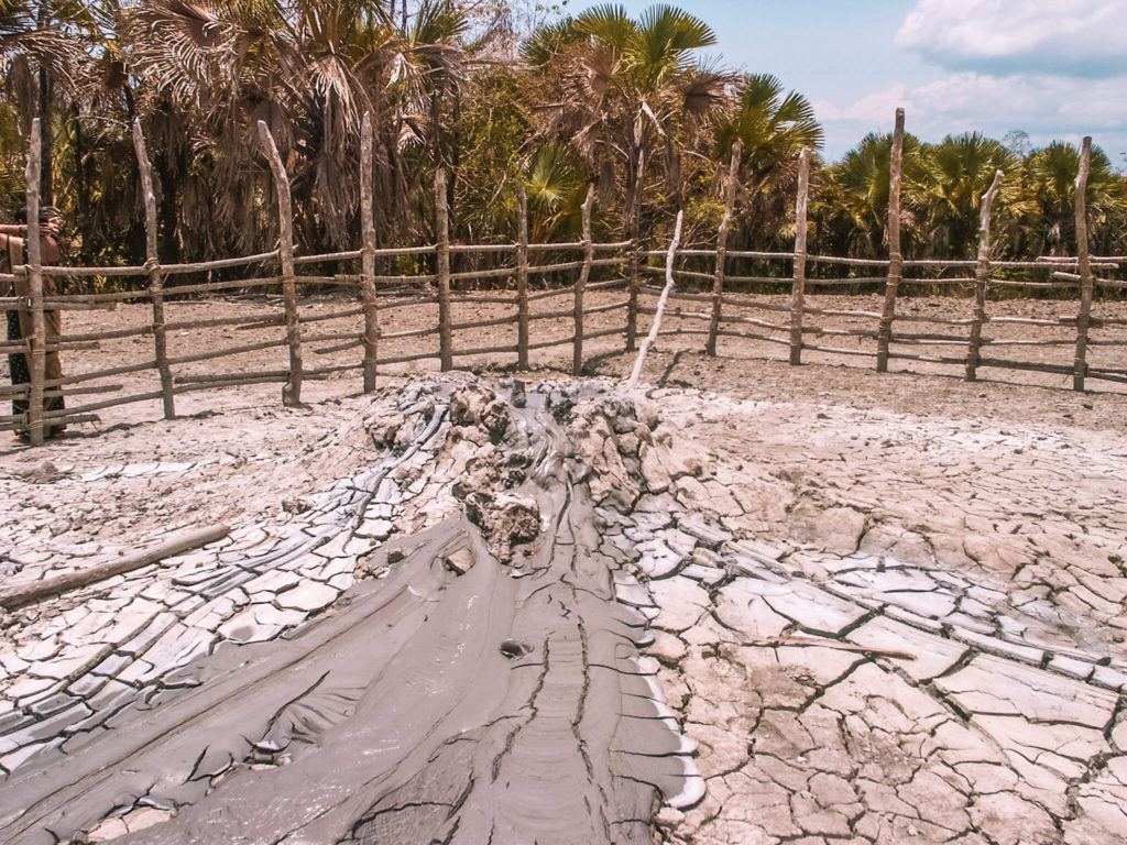 Best places to visit in Andaman and Nicobar islands trip - mud volcano in Baratang island