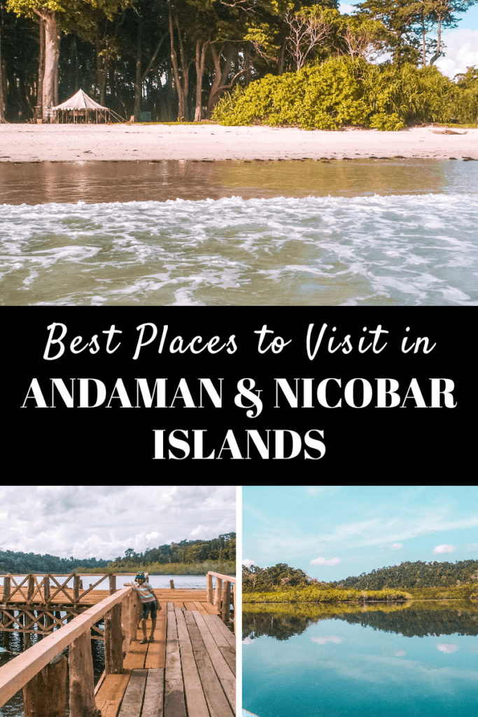 Best places to visit in Andaman and Nicobar islands - pinterest graphic