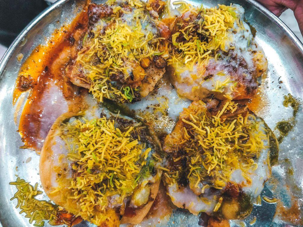 Varanasi Street Food, Places to Eat in Varanasi - Tikki chaat