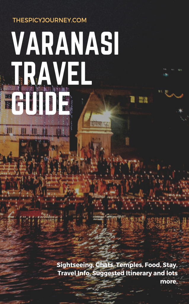 Pinterest Graphic for Places to Visit in Varanasi in 2 Days - 2 Day Varanasi Itinerary