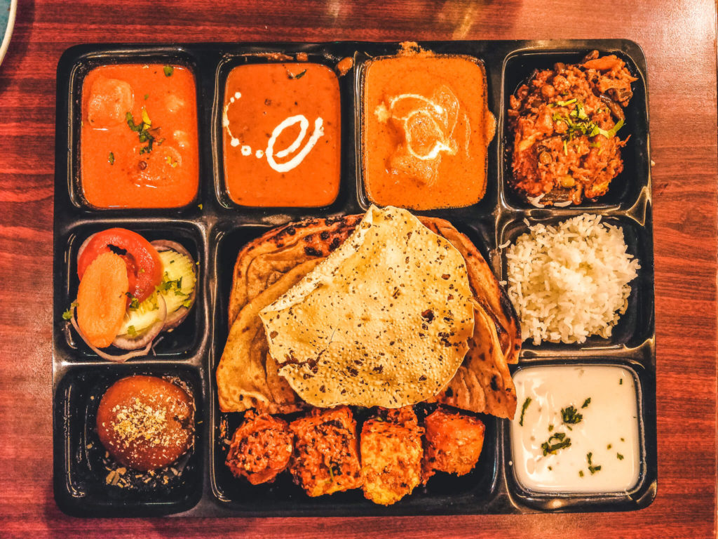 New Delhi Travel Guide - Places to eat in Delhi - restaurants - Thali at Imly