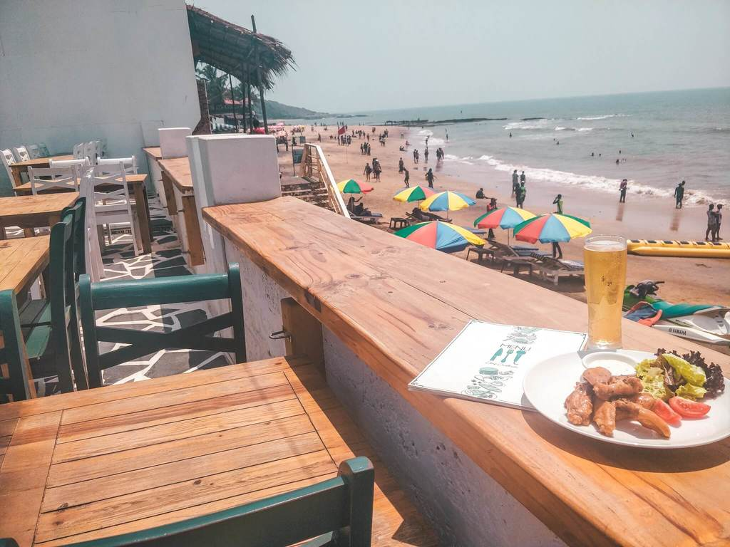 Travel guide to Goa - Goa beaches - Anjuna beach, Goa, India