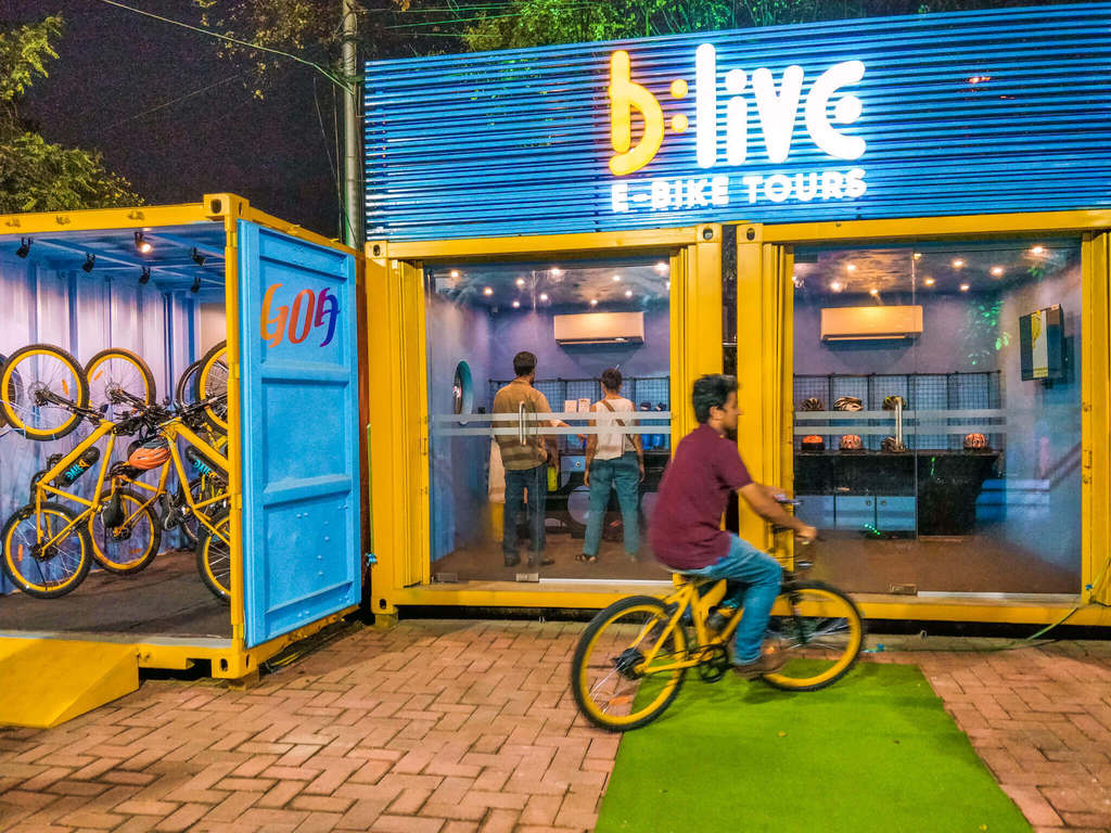 Insider's travel guide to Goa - Things to do in Goa - B:Live e-bike tours