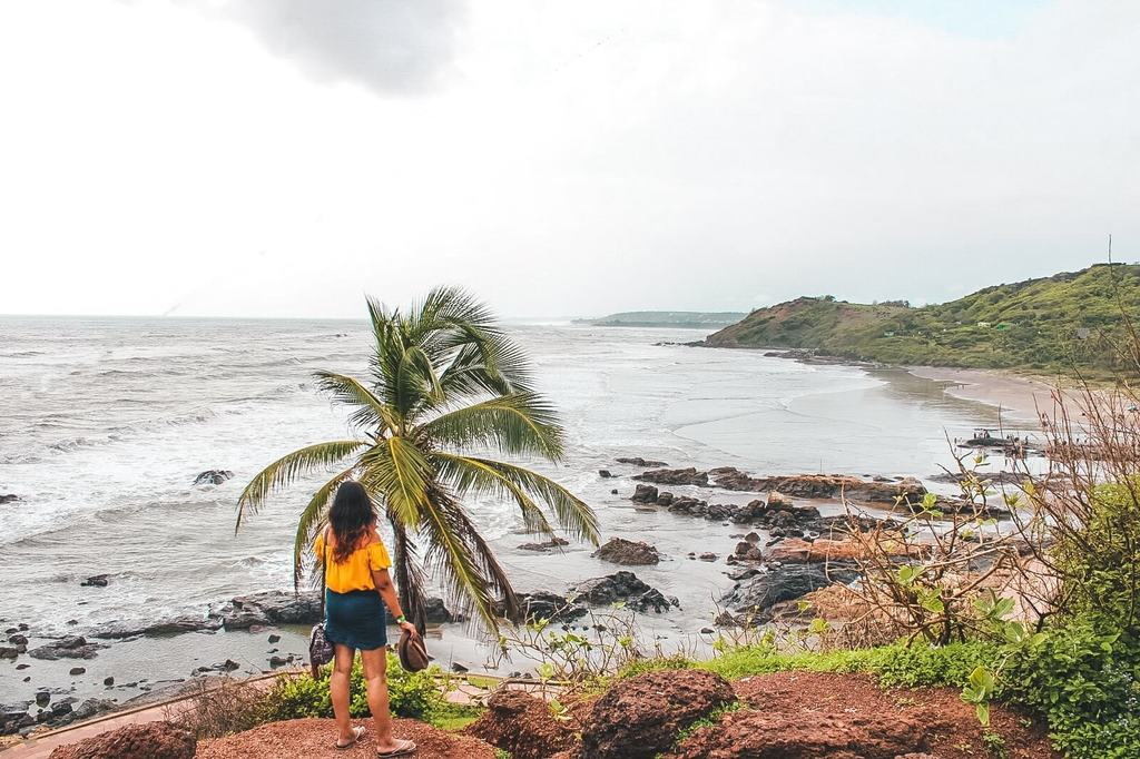 Goa travel guide - Vagator beach, North Goa