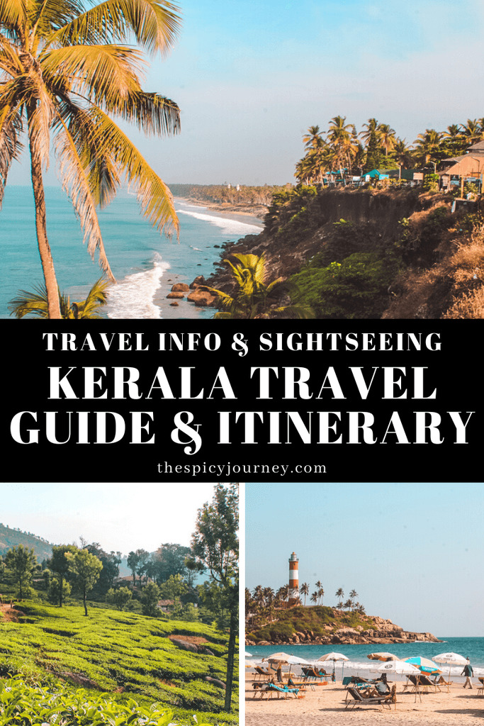 Pinterest graphic - Backpacking Kerala travel guide and Kerala itinerary for 10 days