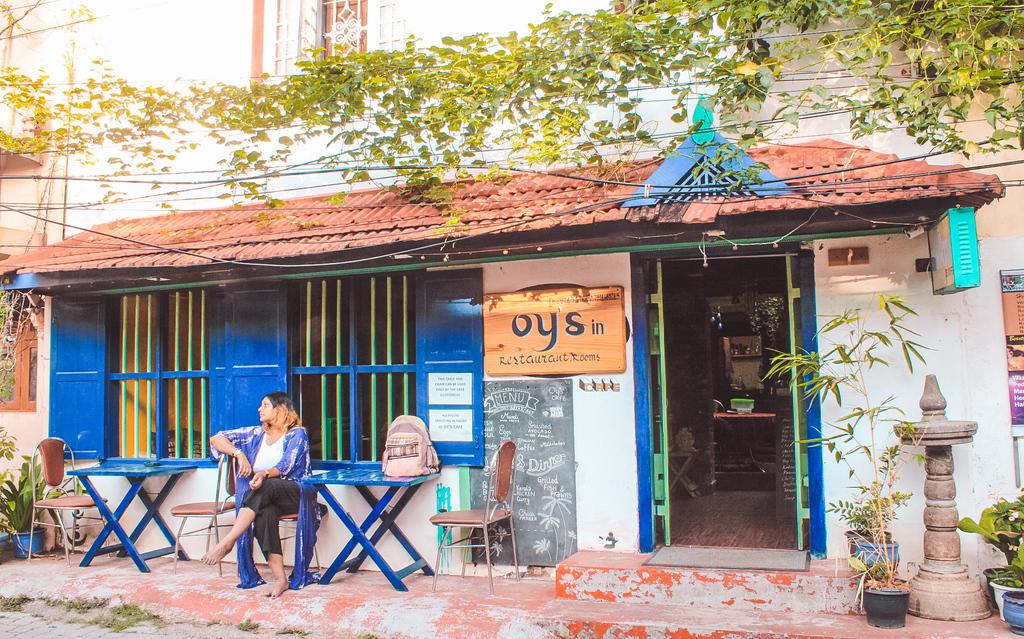Best art cafes in Fort Kochi - Oy's Cafe