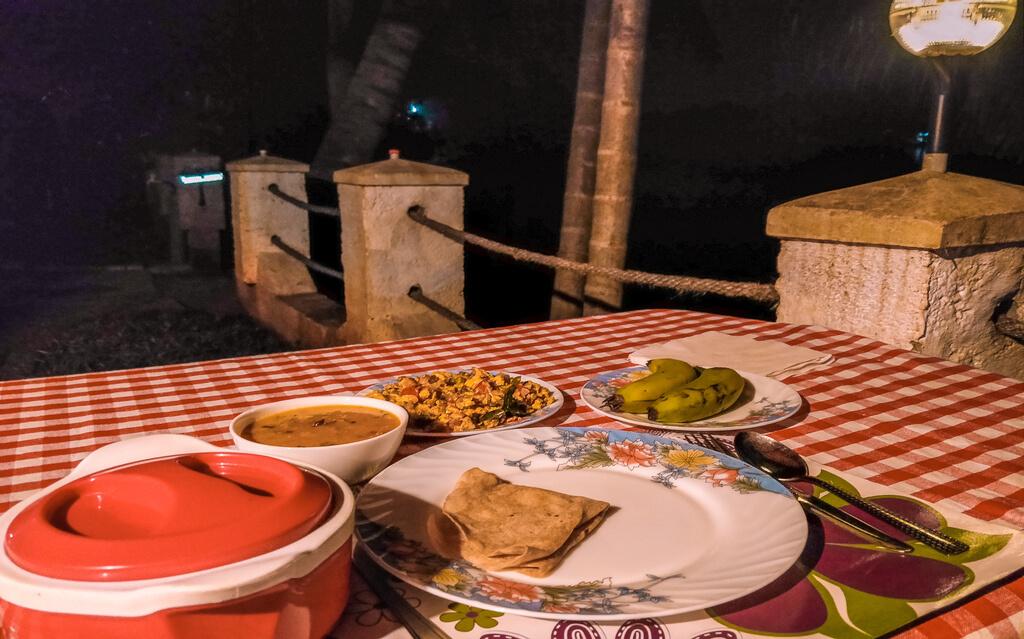 Munroe island homestay dinner