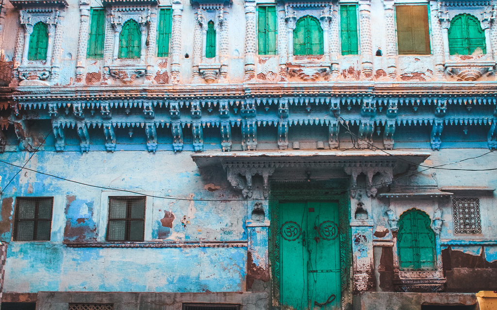 Jodhpur blue houses in 2 day Jodhpur itinerary - best places to visit in Jodhpur in 2 days