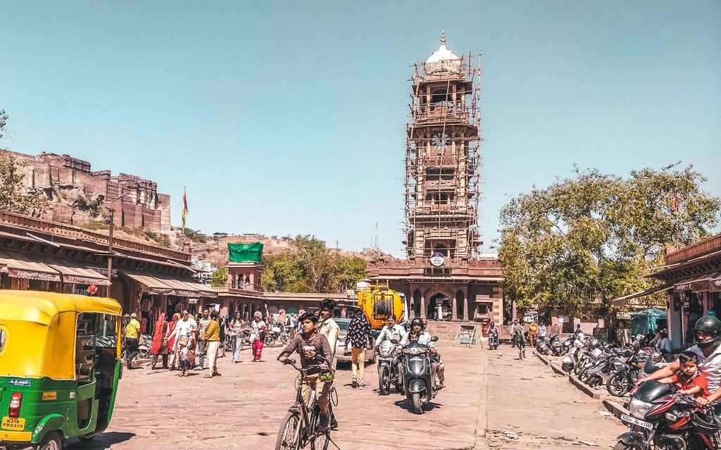 Clock tower Jodhpur Rajasthan in Jodhpur Itinerary - best places to visit in Jodhpur in 2 days