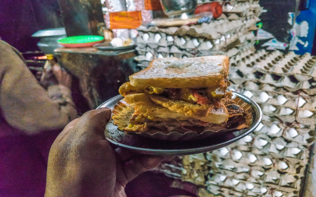 Jodhpur famous omlette stall in 2 day Jodhpur itinerary for Jodhpur blue city Rajasthan India