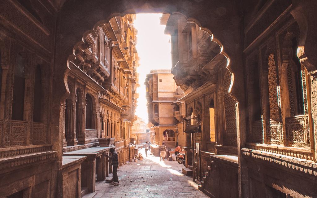 Patwon ki Haveli on day 1 of Jaisalmer itinerary and Jaisalmer travel guide