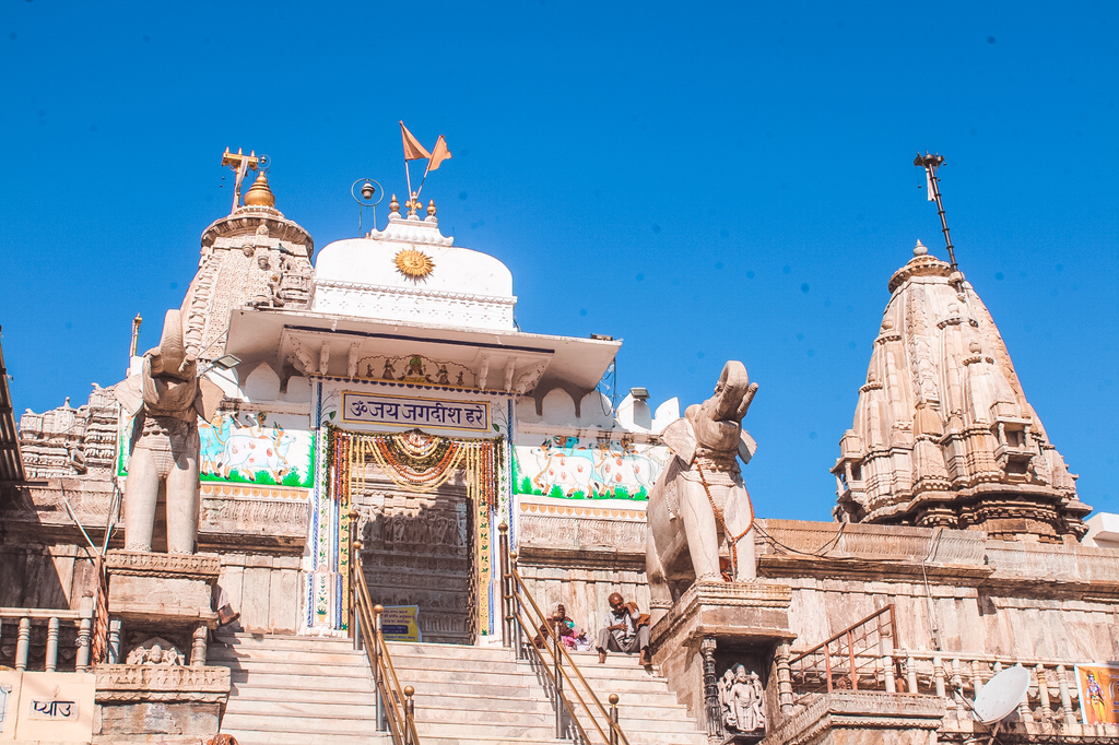 Jagdish temple in Places to visit in Udaipur in 2 days