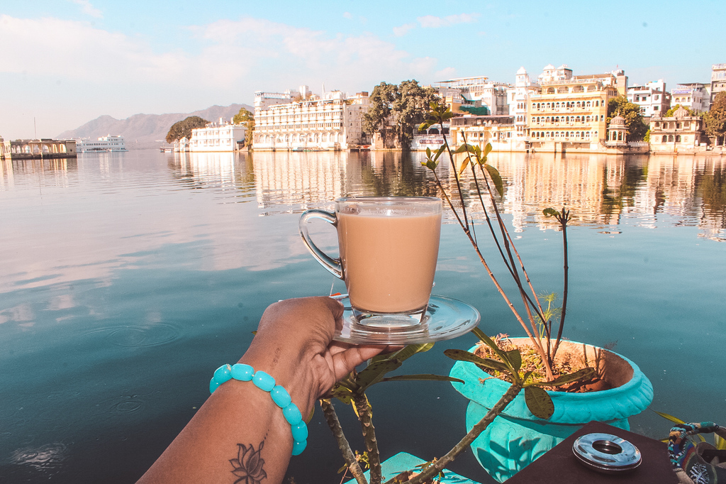 Places to eat in Udaipur - Jheel cafe