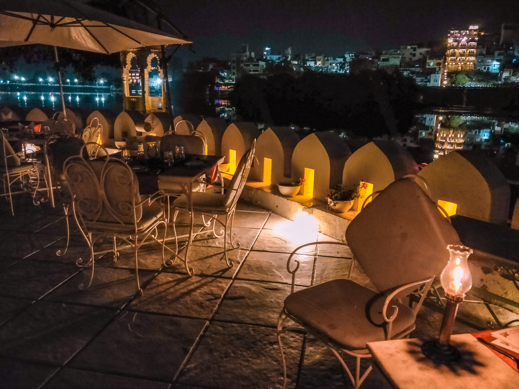Places to eat in Udaipur - Tribute restaurant