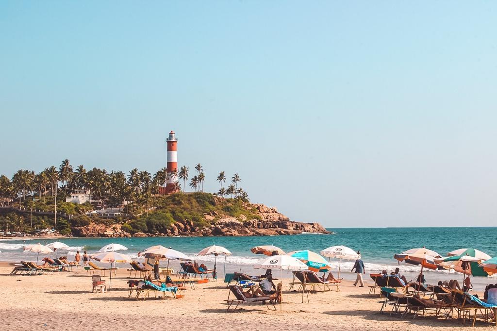 Lighthouse beach Kovalam