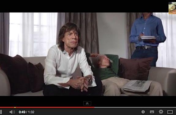 Mick Jagger promotes Python show x575