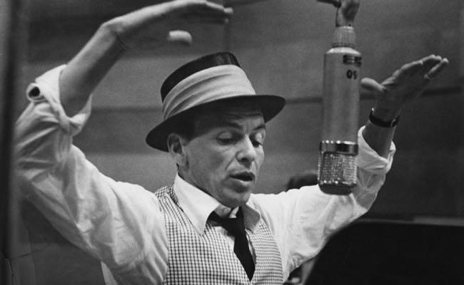 Frank Sinatra microphone