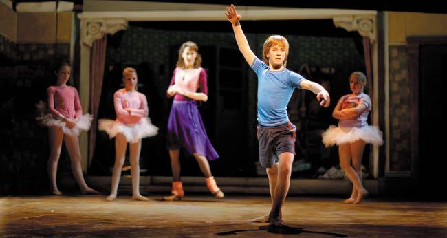 James Lomas as Billy Elliot x650
