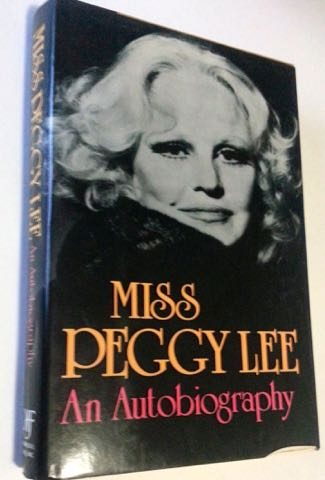 Peggy Lee autiobiography x325