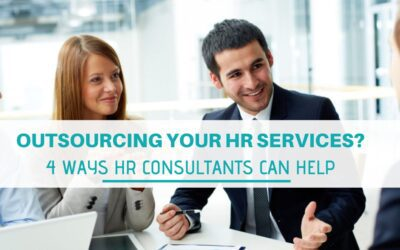 Outsourcing your HR services? 4 ways HR consultants can help