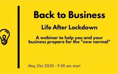 Back to Business: Life After Lockdown webinar