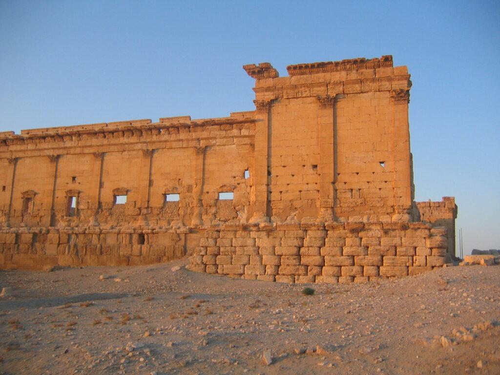 el desaparecido templo de Bal