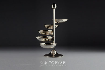 5 Bowl rotating sweets stand