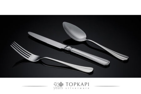 'Baguette' silver plated cutlery