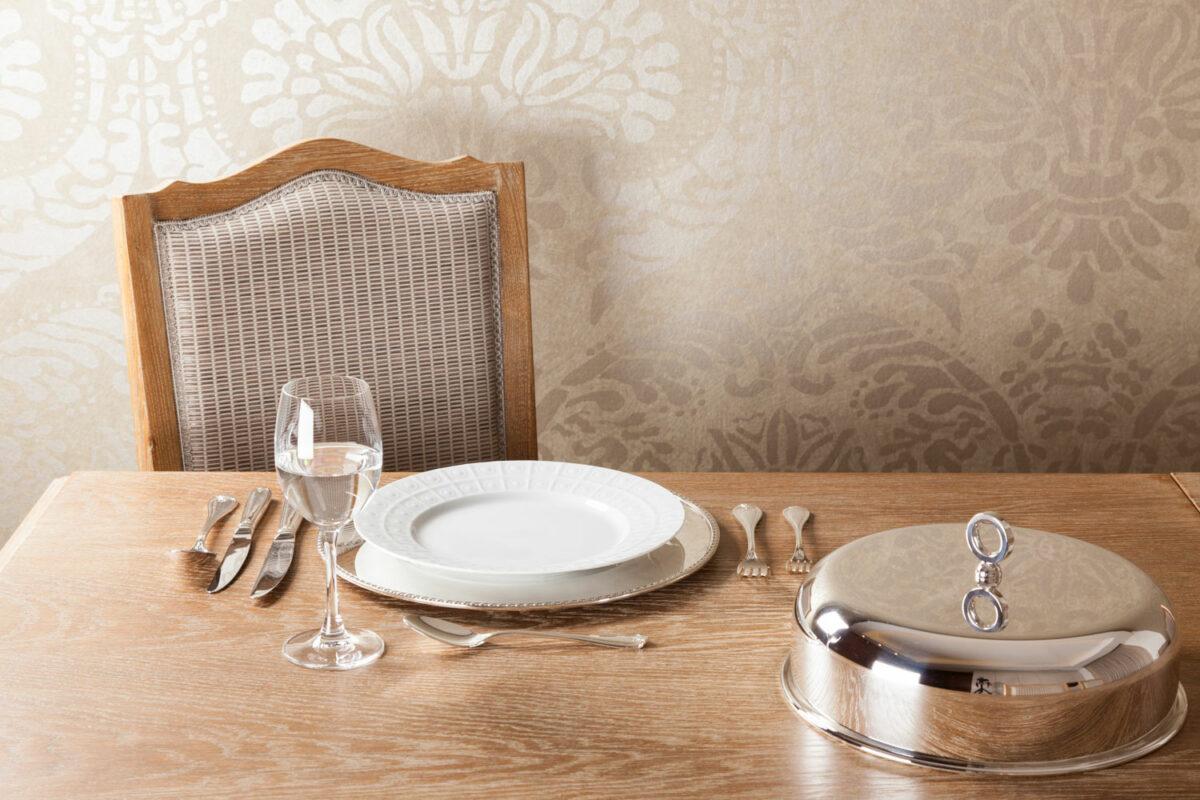 Topkapi Silverware-Table setup