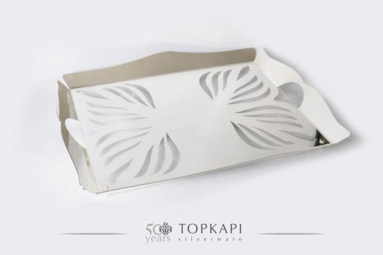 Topkapi-Rectangular 'Fig' tray